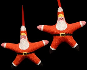 Jumbo Starfish Santa - Click For Larger View
