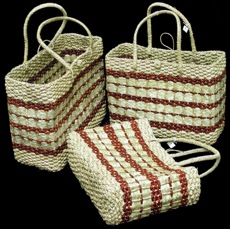Beautiful Rattan Bags 3 - Click For Larger View