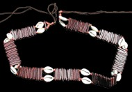 African cowrie belt W/cocoa - Click For Larger View