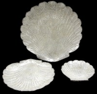 3 Pc Capiz Scallops - Click For Larger View