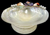 Mother of Pearl Dish - Click For Larger View