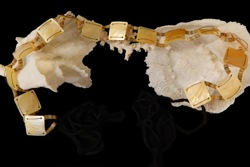 Gold Oyster shell Belt - Click For Larger View